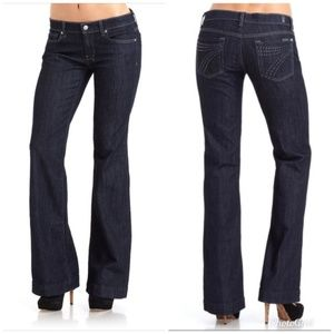 7 for all Mankind Dojo Crystal Flare Jeans 29P